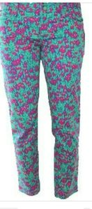 Lilly Pulitzer Skinny Mini Cropped Pants - Size 12
